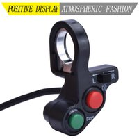 """Motorcycle Electrical System Turn Signal Light Switch Horn ON OFF Button For 7 8"""" Motorbike Dia Handlebars Accessories Electric Bike Scooter"""