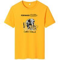 T-shirt a manicotto A1Cotton A4Cotton SEN con vestiti sciolti Estate Trend Solido Bianco Mezza Grande Grande Wear02S 1