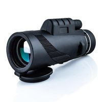 Telescópio Binóculos BAK4 80X100 Óptica Zoom HD Lente À Prova D 'Água Alta Definição Monocular Spotting Scope Portable para Caminhar Hunting