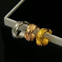 Nouvelles boucles d'oreilles en acier inoxydable 316L boucles d'oreilles pour hommes et femmes 1,5 * 0,6 cm de bijoux cadeau