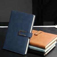 Notebook blocos blocos criativos buckle diário negócio grosso cadernos personalizados logotipo escolar escritório material YL550