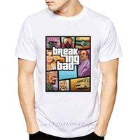 Camiseta hombres ventas rompiendo malos personajes imprimiendo mangas cortas masculinas ops básicas fresco ee hipster casual 210420