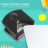 أدوات الحرفية R4 الزاوية لكمة لصناعة ورق ورقة الحرف القاطع مؤشر الدومر. أداة القطع الدائرية الصغيرة