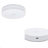 Smart Motion Sensor Night Light Lampe de placard Lampes Stick Stair Anywhere Eclairage d'escalier Entrée Applique Safe Lumières pour le couloir Salle de bain DHL