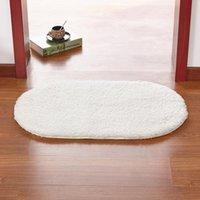 Carpets Non-Slip Bath Mat Kitchen Entrance Doormat Solid Color Carpet Bedroom Bedside Balcony Porch Area Rug For Home Decor