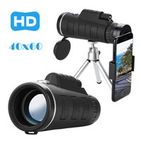 40x60 Zoom HD High Power Telescope Monoculars Lens Single-cylinder Binocular Optical Spyglass Monocle Hunting Camping Tripod #T3