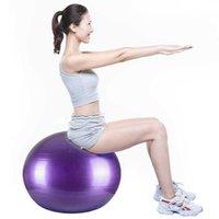 65 cm 75 cm Sport yoga palline Bola Pilates Birthing fitness palla palestra equilibrio fitball esercizio allenamento massaggio palla 45cm 85 cm così così