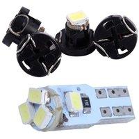 Notbeleuchtung -4pcs T3 1210 3528 SMD-LED-Armaturenbrett-Dash--------Birne mit 6 stücke T5 3020 5 Seitenlampen internen