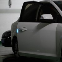 Emergency Lights Anti Collision Car-styling Auto Atmosphere Light Car Door Solar LED Flashing Lamp Warning Motion Control D5QE
