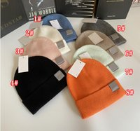 Winter spring Christmas Hats For man woMen sport Fashion Beanies Skullies Chapeu Caps Cotton Gorros Wool warm hat Knitted cap 5colors Double thickening 8colors