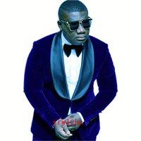 Handsome One Button Groom Tuxedos Shawl Lapel Groomsmen Man Suit Mens Wedding Prom Dinner Suits Bridegroom (Jacket+Pants+Tie) B119