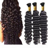 느슨한 깊은 웨이브 인간의 꼰 머리 곱슬 머리가 굵은 곱슬 대다 땋은 머리카락을 가진 곱슬 인간의 머리를 가진 위의 웨이프 크로 셰 뜨개질 머리