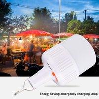 Tragbare Laternen Solar LED Not Glühlampe Wiederaufladbare Intelligente Nachtlampe Fernbedienung Energieeinsparung Leuchte für den Außenbereich