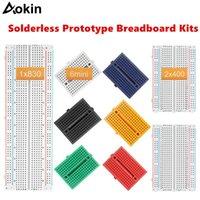 Integrerade kretsar Solderless Prototype Breadboard 830/400/170 Tie Point Mini Modular Kit för Arduino DIY