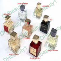 المعطر Maison Francis Parfum Kurkdjian Perfume Baccarat Rouge 540 Oud Aqua Universalis Amyris Fragrance EDP دروبشيبينغ 70 مل
