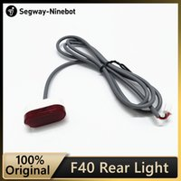 Original Ninebot Rear light accessory for Ninebot F40 KickScooter Foldable Smart Electric Scooter Taillight Accessories