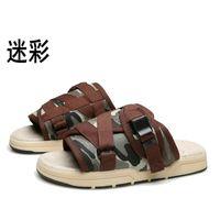 Plus Size 36-45 Slippers Fashion Couple Male Summer shoes Slip-resistant beach Flip Flops sandals