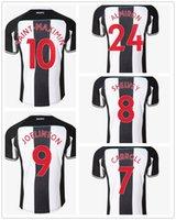 21-22 Futbol Formaları Özelleştirilmiş Ev Tayland Kaliteli Futbol Formaları Yakuda Yerel Çevrimiçi Mağaza Dropshipping kabul edildi # 9 Wilson # 10 S A i N T-maximin