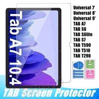 삼성 갤럭시 탭 S7 11 인치 S6 Lite T870 T875 A7 10.5inch T500 T505 T290 T510 T590 유니버설 7inch 8inch 9inch에 대한 강화 유리 스크린 보호 필름