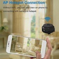 Mini Kameralar Wifi Kamera Kartı Gece Görüş Kızılötesi Küçük 1080 P Hava Sporları DV Tüketici Elektronik Kameralar
