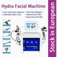 7 en 1 Máquina facial de oxígeno Dermabrasion Hydra Facial Piel Rejuvenecimiento Inyector de oxígeno Hidratante Máquina hidratante Hidrofacial
