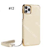 v iPhone 12 Pro Max 11 11Pro 11Promax Case 7 8 Plus X XR XS XSMAX PU 가죽 전화 커버 보호 쉘