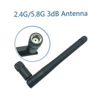 2. 4GHz 5. 8Ghz 5G wifi Antenna 3dBi SMA Female Connector Dual...