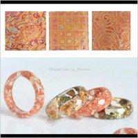 25 pezzi floreali foglia oro foglia oro fogli di carta fogli di carta per fai da te craft nail art decorazione pnyku arti e mestieri 2wknb