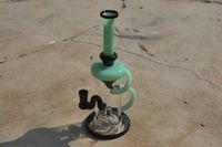 Girling Bong Hookah / EMS Seguro y entrega rápida / Diapositiva de 14 mm / Experiencia de fumar excelente / Efecto de filtrado de agua brillante // Hecho a la medida / Mirada artística