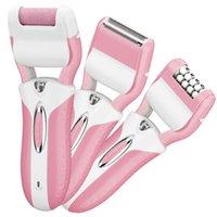 3 in1 Аккумуляторная электрическая корзина для удаления волос для волос бархат гладкая леди бритва Epilator бикини нога стрижка волос удаление женщин бритья эпилятор