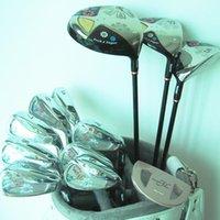Komplette Set von Clubs Womens Golf FL Drive + Fairway Wood + Bügeleisen Graphitwelle und Kopfbedeckung