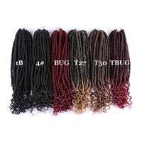 New Style Synthetic Crochet Tradition Extensions de cheveux 100 / Pack Kanelalon Fibre Twist Twist Différentes couleurs 20 pouces