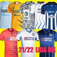 Liga MX League America Monterrey Tigri Uanl Soccer Jersey Htigers Uanl Uomo Camicia da calcio Cruz Azul Uniformi di calcio