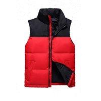 Erkek Tasarımcı Yelek Kuzey Kış Aşağı Puffer Ceket Rahat Marka Hoodies Parkas Sıcak Kayak Erkekler Favest