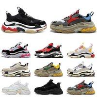 Balencaiga Shoes triple s hommes femmes designer chaussures de sport baskets à plateforme noir blanc gris rouge rose bleu vert jaune baskets pour hommes chaussure de sport 36-45