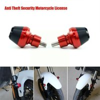 Theft Protection Aluminum Alloy Decoration Anti-theft Security Motorcycle Plate Bolt License Screw Body Cover Accessories Frame J5V9