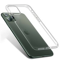 iPhone X XS XR 최대 클리어 소프트 TPU 커버 투명한 Shockproof 휴대 전화 케이스