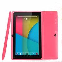 7 inch Q88 Tablets Quad Core AllWinner A33 1.2GHz Android 6.0 1GB RAM 8GB ROM Bluetooth WiFi OTG Tablet PC A-7PB