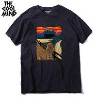 100% algodão fresco loor de verão t camisa casual manga curta engraçado tshirt t-shirt do pescoço homens camiseta