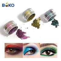 Eye Shadow BOKO Wholesale Style 0.3 G jar Cosmetic Grade Super Chameleon Pigment For Nail Art And Eyes