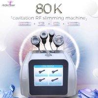 2 ans Garantie Traitement de la cellulite Minceur Machine Traitement ultrasonore de la graisse Réduire 80K Cavitation SPA approuvé par la FDA utilisé