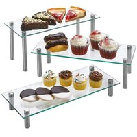 Other Bakeware 4 Layers Cake Stand Afternoon Tea Wedding Plates Party Tableware Acrylic Tray Display Rack Decorating Tools