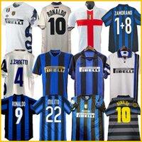 Finaller 2009 10 Milito Sneijder Zanetti Retro Jersey Futbol Forması 97 98 99 Djorkaeff Baggio Ronaldo Adriano Milano 10 11 02 03 08 09 Inter