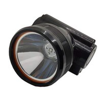 Faro 50 PCS / LOT Super Bright 5W KL5LM LED Mining Light Light Miner Faro Lámpara de casquillo de seguridad para la pesca de caza Camping al aire libre