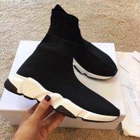 Designers classiques Chaussures de chaussures de qualité pour hommes et femmes Baskets textiles élastiques pour femmes avec boîte, sacs à poussière