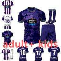 21 22 Jerseys de football Valadolid Real Fede S. Sergi Guardiola Óscar Plano Camisetas de Fútbol 2021 2022 Chemises de football pour enfants adultes