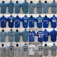 99 hyun-jin ryu jersey 4 george springer 11 bo bichette 27 vladimir guerrero jr costurado flexbase legal equipe equipe branco luz azul cinza