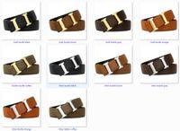 Courroie de designer pour hommes Femme de haute qualité Beaucoup de couleurs Fashion Fashion Cowhide Lychee Coiffeuse de peau Crocodile Coiffes pour 34 mm avec boîte exquise