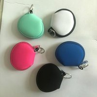 Favor Neoprene mask bags outdoor travel mobile phone charging cable earphone storage bag