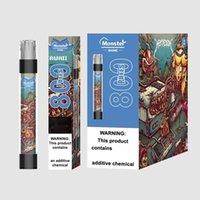 Monster Shine Flash Electronic Electronic Sigarette 800 Sfuffs 3ml 550mAh Vape Pen